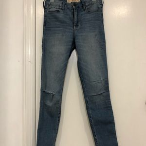 Holster high waisted skinny jeans